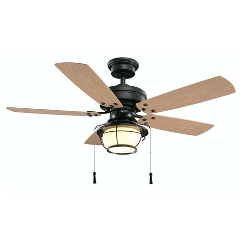 outdoor ceiling fan blades hton bay north shoreline 46 in indoor outdoor natural