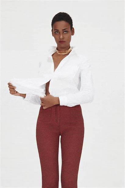 Tricks Polished Styling Crop Shirt Second Times