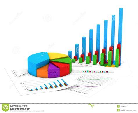 Finance Charts Stock Illustration. Illustration Of