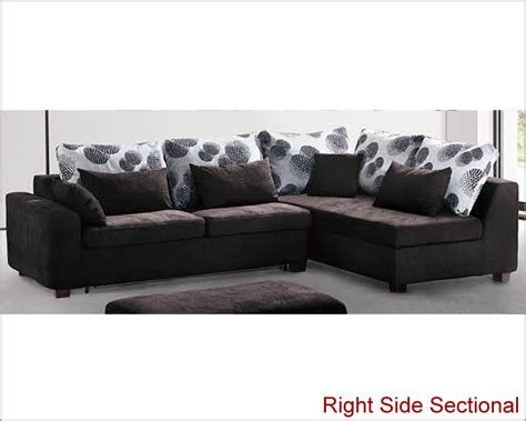 Chaise Sofa Sleeper With Storage by Modern Sectional Set With Sleeper Sofa And Storage Chaise