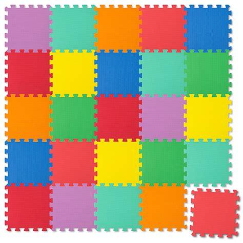 Puzzle Tappeto by Tappeto Puzzle Tappeto Per Giocare Colorato 25 Pezzi