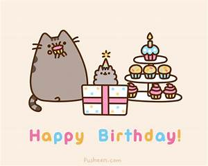 Happy Birthday to Pusheen's cute little sister, Stormy ...