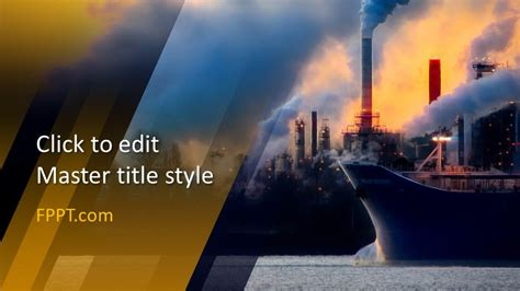 Free Industry PowerPoint Template Design - Free PowerPoint ...