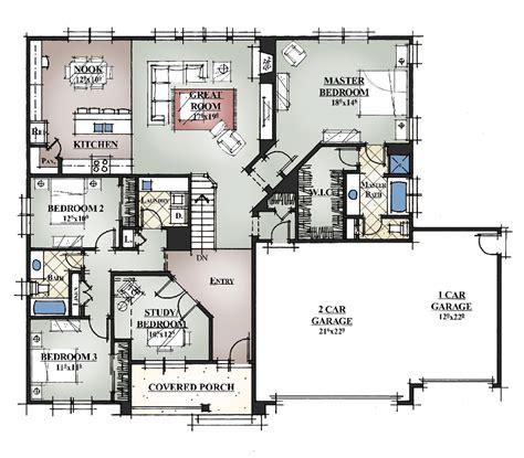 Custom Home Plans :: Greenmark Builders