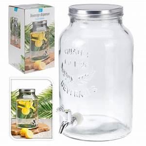 Glas Mit Schraubdeckel : getr nkespender bowlegef rumtopf retro glas mit sc ~ Eleganceandgraceweddings.com Haus und Dekorationen