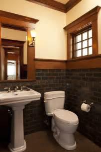 craftsman style bathroom ideas bathroom workbook 7 elements of craftsman style