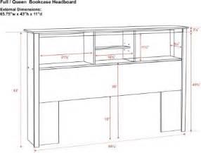 Twin Headboard Measurements by Woodwork Free Bookcase Headboard Plans Pdf Plans