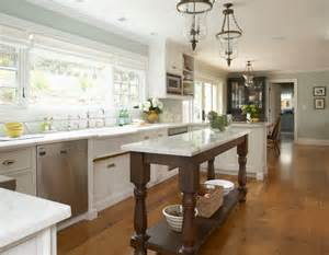 kitchen island with open shelves kitchen ideas traditional kitchen san francisco by
