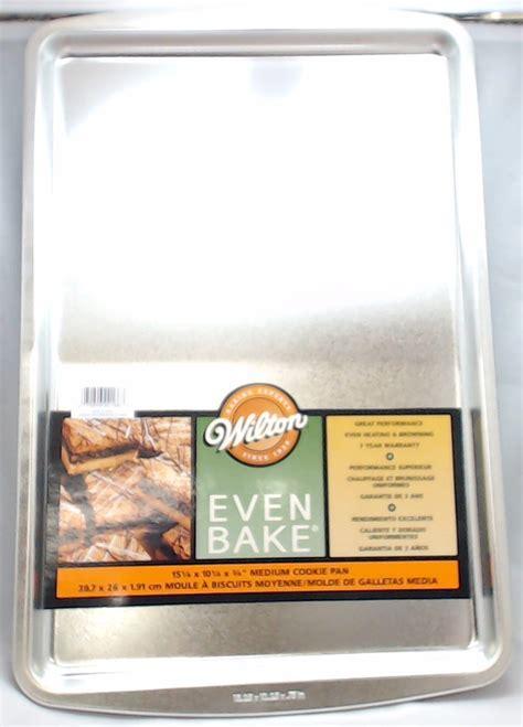 kitchen aid accessories 2105 2166 wilton even bake medium cookie pan 15 1 4 x 2166