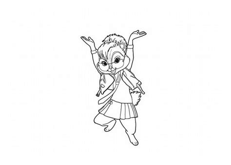 Chipettes Chipwrecked Coloring Pages