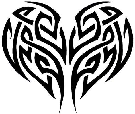 draw  tribal heart tattoo design  easy step  step tattoos tribal tattoos