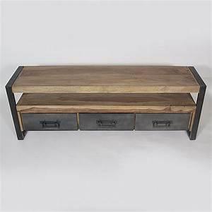 Salle De Bain Style Industriel : meuble salle de bain style industriel 4 meuble tv gm ~ Dailycaller-alerts.com Idées de Décoration