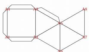 Tikz Pgf - Transform Paper Folding Diagram To 3d Object Or Vice Versa - Tex