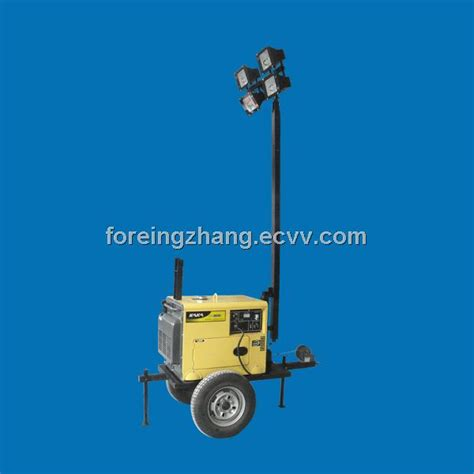 Light Tower For Sale by Diesel Generator Mobile Light Tower For Sale From China
