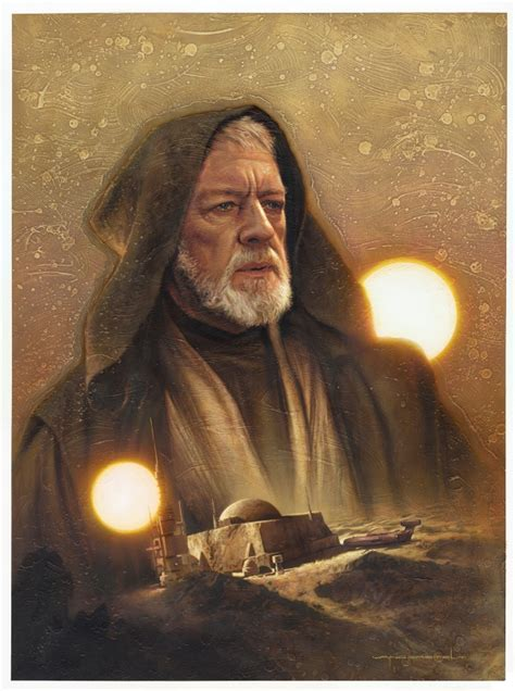 star wars topps galaxy  art  jerry vanderstelt