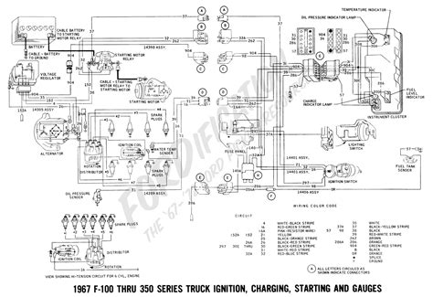 Ford 2006 F750 Truck Wiring Diagram Free by My 1967 Ford F 100 With A 68 Mustang 289 Flutters When It