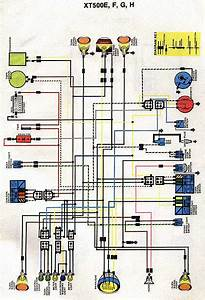 Yamaha Xt600 Electrics Wiring Diagram