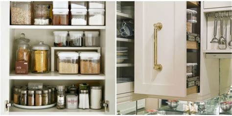 How To Organize Kitchen Cabinets  Storage Tips & Ideas