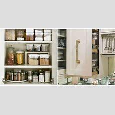 How To Organize Kitchen Cabinets  Storage Tips & Ideas
