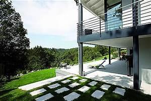 Garagenanbau Mit Terrasse : fingerhaus bauhaus stil ~ Lizthompson.info Haus und Dekorationen