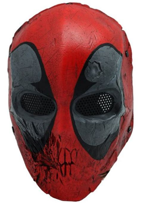 skull  mask full face wire mesh mask  airsoft bb
