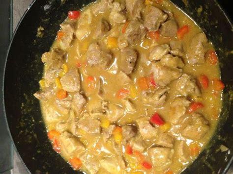 recette de cuisine marmiton sauté de porc au colombo recette de sauté de porc au
