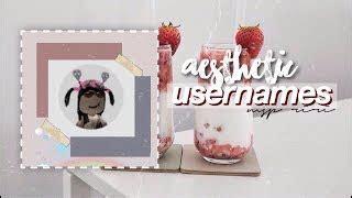 Aesthetic Usernames M… | Mungfali