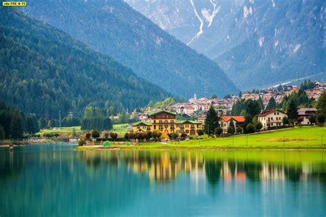 ภาพพิมพ์ลายธรรมชาติ วิวสถานที่จริงสวยๆ ภูเขา ทะเลสาบ น้ำตก ...