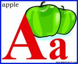 7 alphabet flash cards