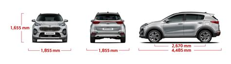 kia sportage  specifications motaveracom