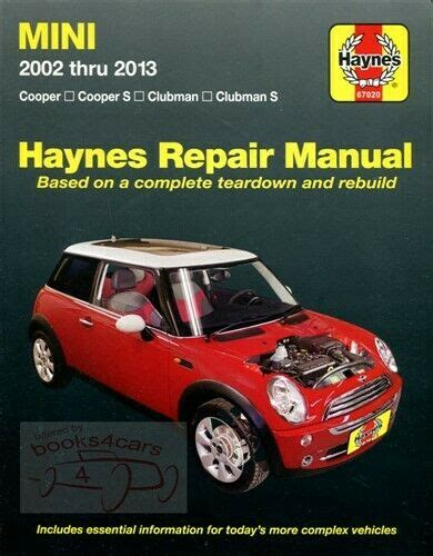 free service manuals online 2010 mini cooper electronic toll collection mini cooper shop manual service repair book clubman s haynes workshop chilton gt ebay