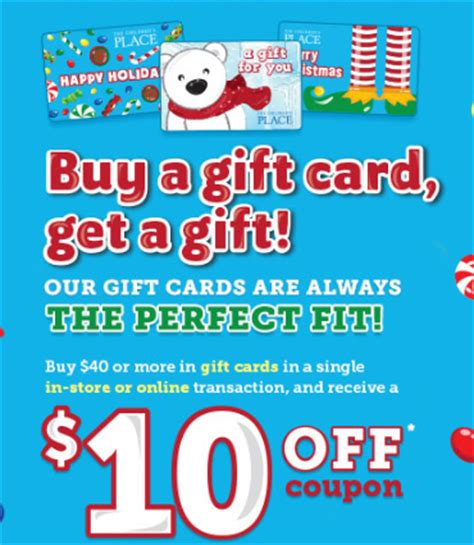 64299 Free Shipping Coupon Childrens Place by Children S Place Gift Card Bonus 25 Coupon Code