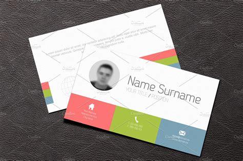 card templates business card template flat design business card