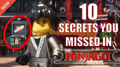 10 Crazy Secrets You Missed In The Lego Ninjago Movie