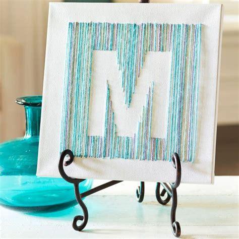 cthru betterletter plastic stencils helvetica yarn wall art yarn letters diy canvas art