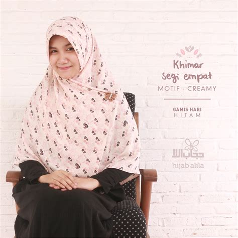 khimar motif hijab alila