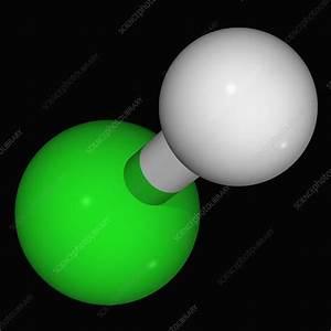 Hydrochloric Acid Molecule  5772