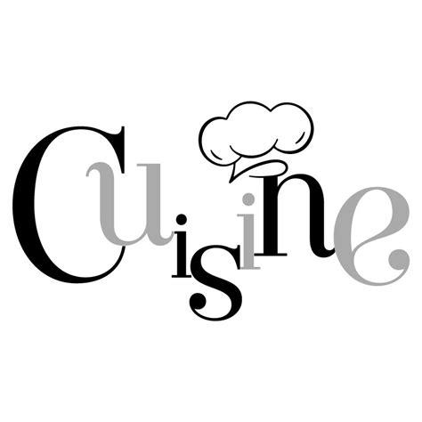 stickers ecriture cuisine sticker mural quot cuisine et toque quot pour cuisine en vente