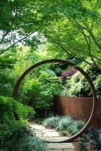 Sculpture De Jardin Contemporaine : 20 amazing diy ideas for outdoor rusted metal projects ~ Carolinahurricanesstore.com Idées de Décoration