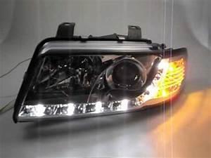 A4 B5 Scheinwerfer : sw drl scheinwerfer audi a4 b5 chrome led tagfahrlicht by ~ Kayakingforconservation.com Haus und Dekorationen