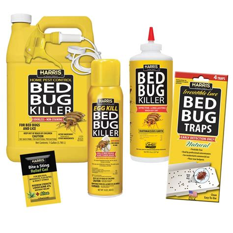 Best Bed Bug Spray Home Depot by Harris Large Bed Bug Kit 100532154 The Home Depot