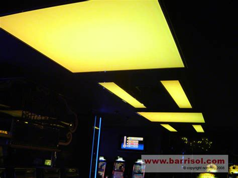 plafond suspendu barrisol lumi 232 re color