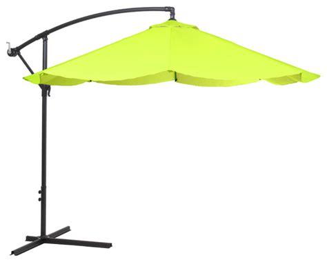 pure garden offset aluminum hanging patio umbrella
