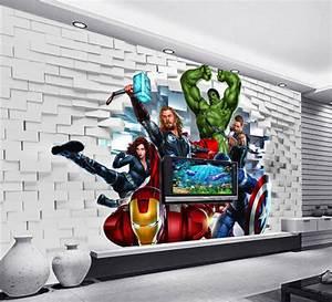 Custom Large Mural 3D Non woven Wallpaper Children's Room ...