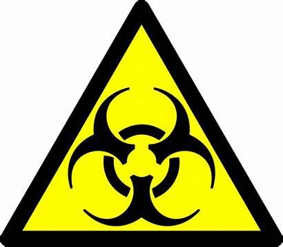 Warning Hazard Sign Icon Bio Vector Graphic