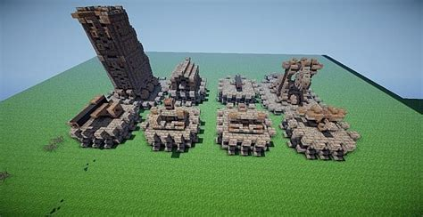 minecraft siege siege weapons pack by platydroid minecraft project