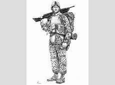 U S Marine Drawing by Murphy Elliott