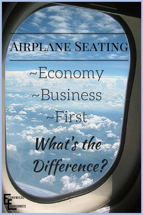airplane seating  economical excursionists