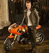 David Beckham Bike