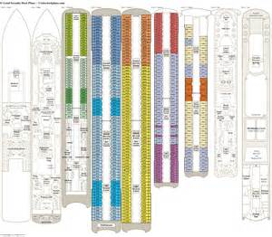 crystal serenity deck plans cabin diagrams pictures